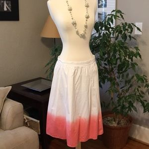 Anthropologie How & Wen 4 Skirt Pink FLASH SALE